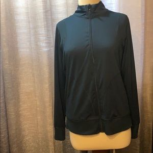 Athletic works zip up dri more jacket